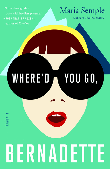 Image result for where'd you go bernadette book cover