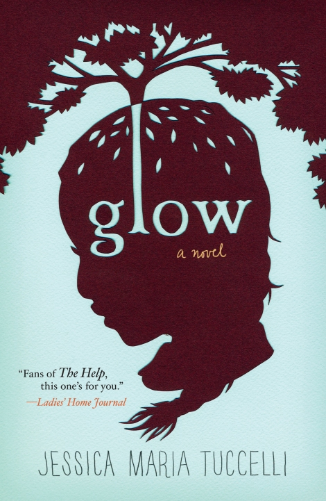 Book Cover Design Silhouette : Glow